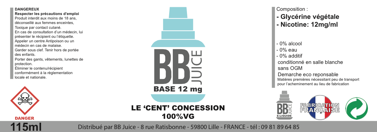 BB JUICE BASE