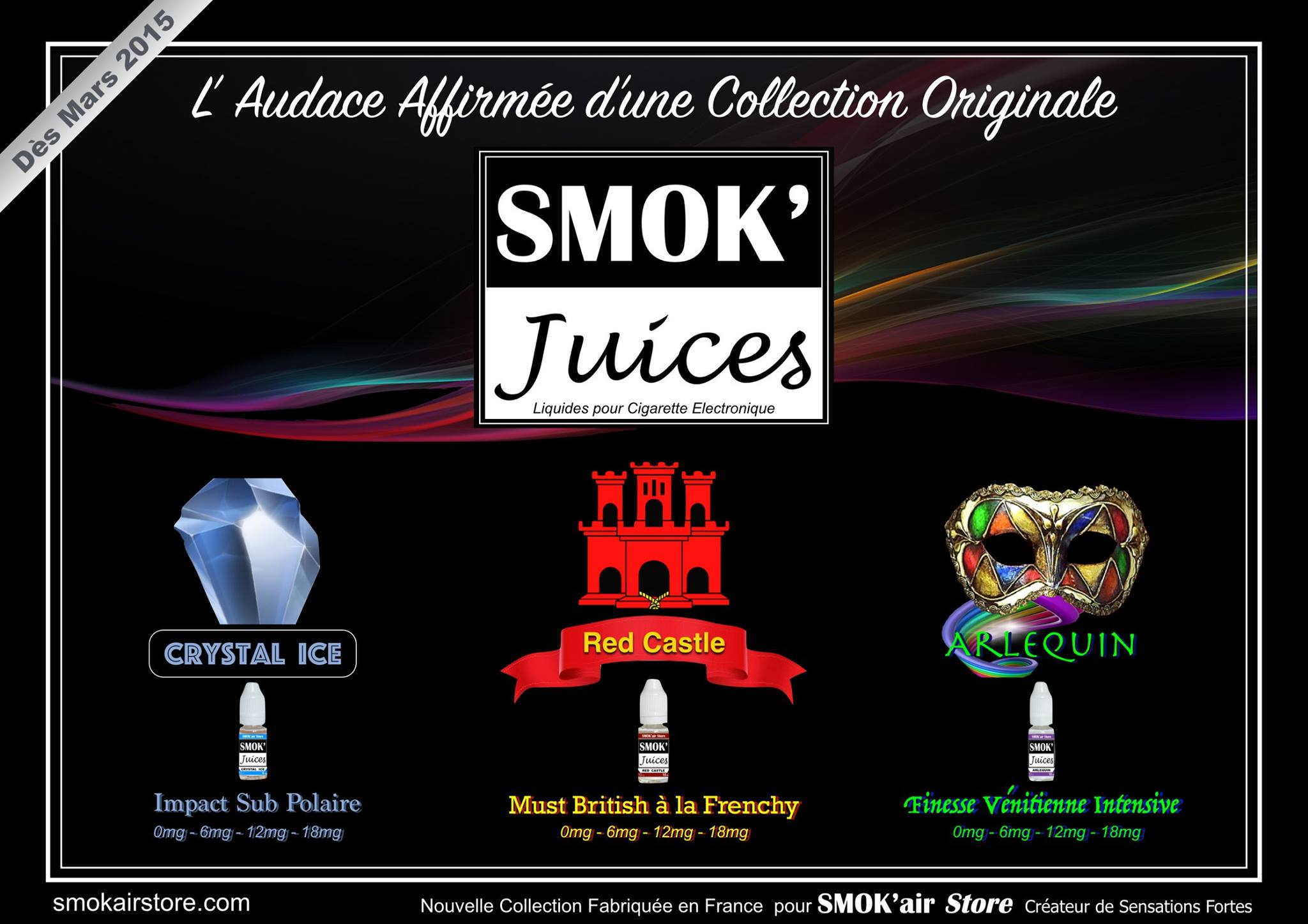 smok'air-store-red-castle-arlequin-chrystal-ice by Aeroma